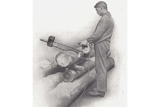 1930: The first one-person chainsaw