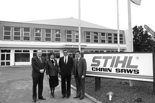 1983: New Zealand becomes STIHL country