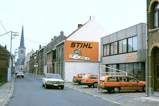 1985: STIHL in Benelux, distinction for STIHL logistics