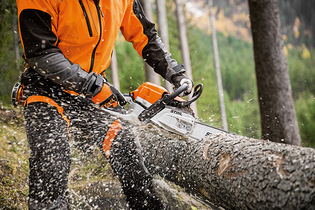 2016: STIHL MS 261 C-M with M-Tronic technology